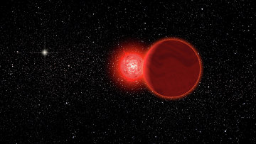 """Астрономите   откриха звезда,  """"гостувала"""" в Слънчевата система"""
