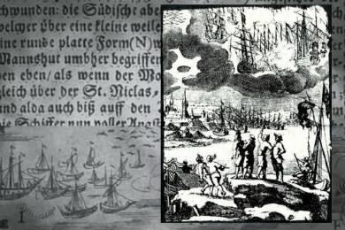 Мистериозната  битка на НЛО над Швеция през 1665 г.