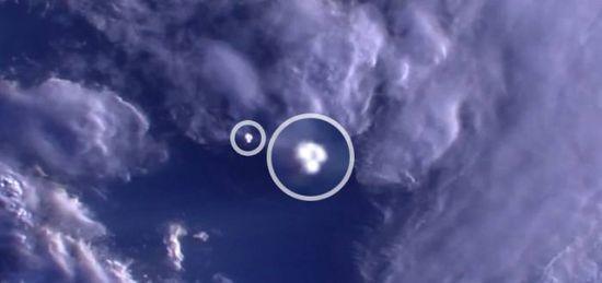 На видео от МКС бе открит НЛО (видео)