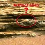 Невъзможен обект е заснет на Maрс (видео)