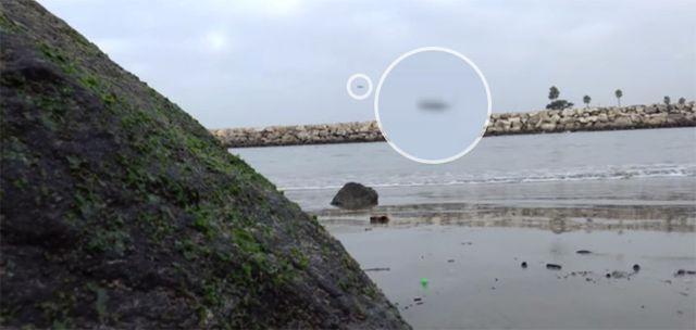 """Тръгнали за риба, а  """"уловили"""" НЛО (видео)"""