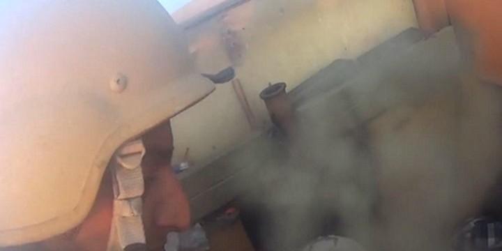 Безумие и хаос: Появи се видео, заснето  с камерата на мъртъв бунтовник от ИД