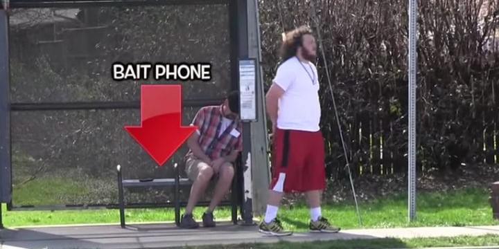 Телефон-примамка с електрошок (видео)