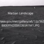 Бял марсиански обект на снимка на НАСА (видео)