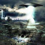 Било е особено  зловещо! Нападение на  НЛО срещу  руски град (видео)