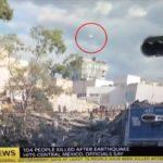 Sky News засне НЛО по време на репортаж за земетресението в Мексико (видео)