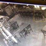 Мистерия: Призрак събаря столове в ресторант в САЩ  (видео)
