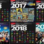 """Поредните загадъчни послания на корицата на  The  Economist Magazine: """"Светът през 2018 година"""""""
