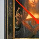 Извънземен обект е  открит на картина на Леонардо да  Винчи, която бе продадена  за 450 млн. долара!