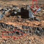 Стъпала на  сграда са заснети на Марс (видео)