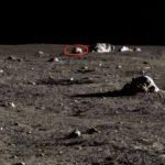 Странният обект на лунната повърхност е извънземен робот? (видео)