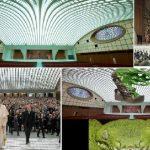 Конспирации: В своята конферентна зала  римският папа говори от устата на Рептилия! (видео)