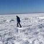 Глобалното затопляне:  Жител  на Масачузетс засне на видеоклип замръзналия океан (видео)