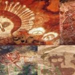 Пещерна живопис с изображения на извънземни и НЛО е открита в Индия (видео)
