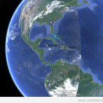 В  Google Earth се появи тайнствена линия около Земята (видео)