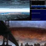 Огромен извънземен кораб в околоземна орбита? HAARP? Магнитна буря? Инвазията е започнала? (видео)