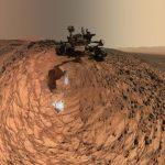 Загадъчни руини на древна крепост са заснети на Марс!