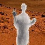 """""""Призраците на Марс"""": На Червената планета заснеха светеща фигура! (галерия)"""
