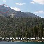 Невероятно ясни кадри с НЛО над езерото Тахо в САЩ! (видео)