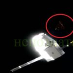Триъгълен НЛО отново бе заснет  до Международната космическа станция (видео)