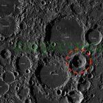 НАСА показа снимка на огромна изкуствена структура, намираща се в лунен кратер!