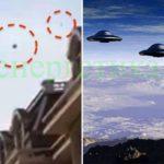 Нашествие на  НЛО над Китай (видео)