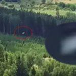 Изключително бърз НЛО е заснет от дрон в небето над Mieroszów, Полша (видео)