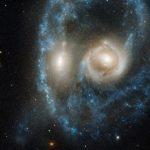 """Телескопът Hubble засне """"зловещо лице"""""""