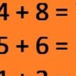 Само двама от десет човека могат да намерят отговора на тази задача!