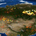 Светът в плен на огъня: Пожарите на планетата Земя през 2019 г. (видео)