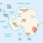 300-километров метален обект се крие под ледовете на Антарктида