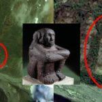 Гигантска фигура на извънземен ацтек е открита в Южна Америка (видео)