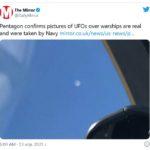 Признанието: Пентагонът потвърди автентичността на снимките с НЛО (видео)